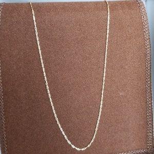 "Jewelry - 10K 18"" Fine Gold Chain"